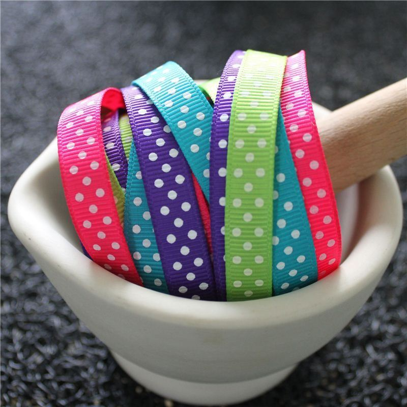 Swiss Dot Grosgrain