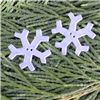 Order  Christmas Button - Snowflake
