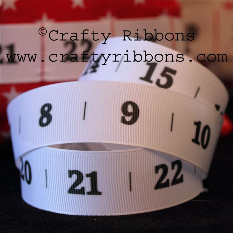 Advent Number Ribbon