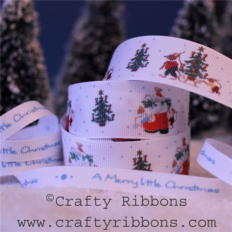 Mice Christmas Ribbon