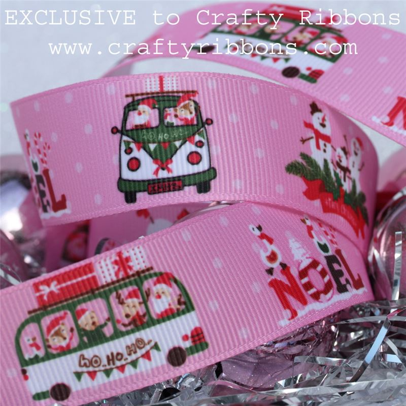 Christmas Bus Ribbon