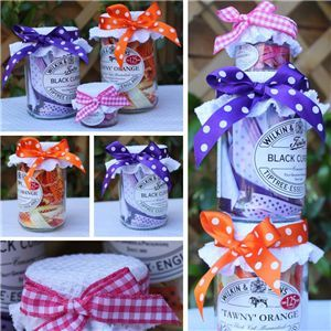 Jam Pot Ribbons