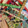 Order  Scrap Bags of Christmas Ribbon