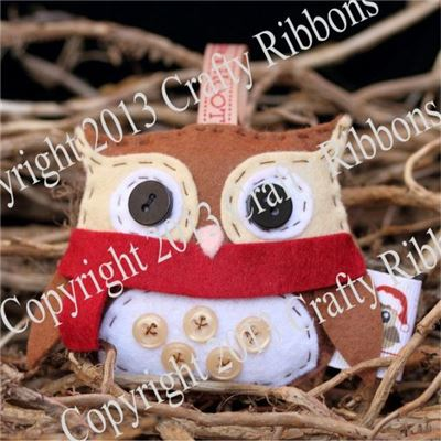 Christmas Owl - Percy Owl Kit