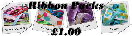 ribbon packs ALL £1