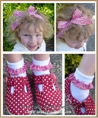 bows and ruffles for little girls