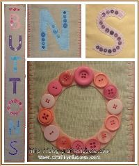 button banner for room doors or walls