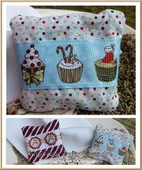 cupcakes and lavender bags
