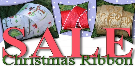 christmas ribbon sale