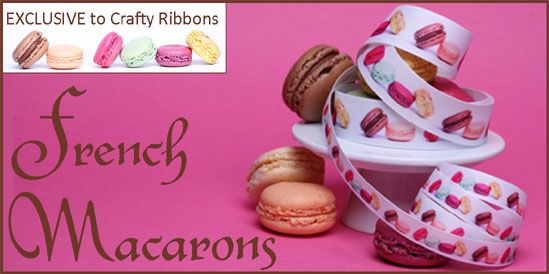 ribbons exclusive to crafty ribbons