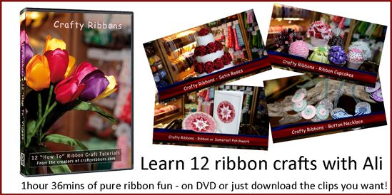 Crafty Ribbons DVD