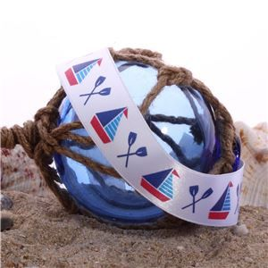 Nautical Ribbons - Sail Boats