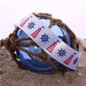 Nautical Ribbons - Lighthouse