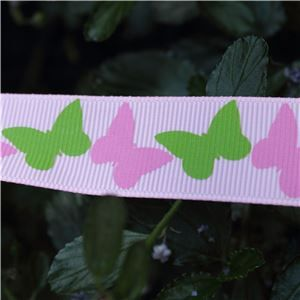Animal Cuties - Butterflies Pink