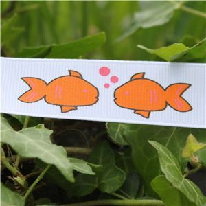Animal Cuties - Lg Gold Fish/White