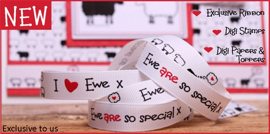 I love Ewe Ribbon