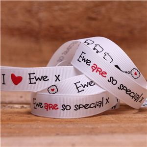 I love Ewe Ribbon - Ribbon