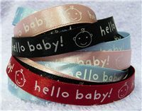 Baby Ribbon - Hello Baby