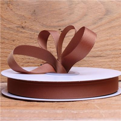 Basics 2 Go Grosgrain Ribbon - 13mm  Golden Brown