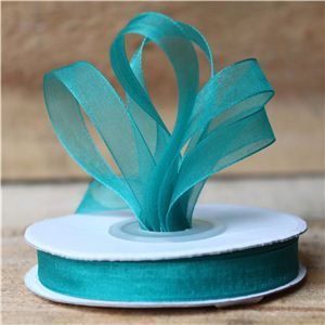 Basics 2 Go Sheer Ribbon - 9mm Jade