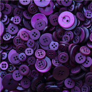 Basics 2 Go Buttons - Plum