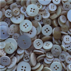 Basics 2 Go Buttons - Dark Cream