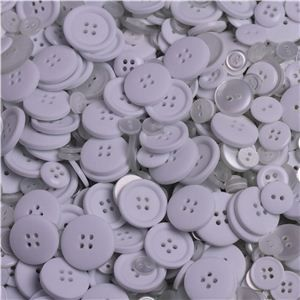 Basics 2 Go Buttons - White