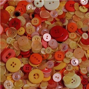 Basics 2 Go Buttons - Yellow/Orange