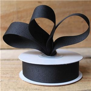 Basics 2 Go Grosgrain Ribbon - 23mm Black