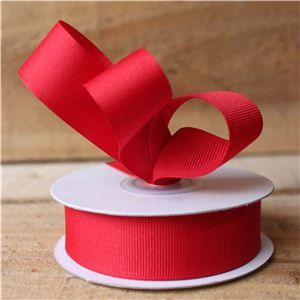 Basics 2 Go Grosgrain Ribbon - 23mm Red