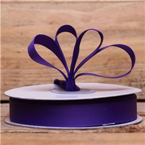 Basics 2 Go Grosgrain Ribbon - 16mm Regal Purple