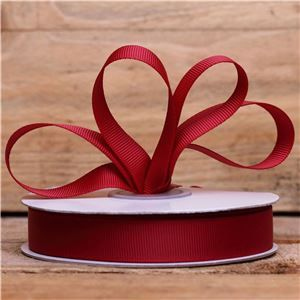Basics 2 Go Grosgrain Ribbon - 16mm Scarlet