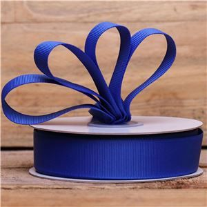 Basics 2 Go Grosgrain Ribbon - 22mm Electric Blue