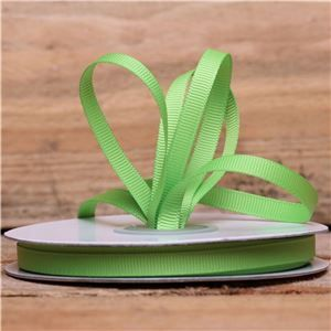 Basics 2 Go Grosgrain Ribbon - 6mm Apple Green