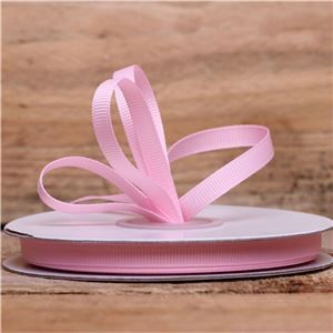 Basics 2 Go Grosgrain Ribbon - 6mm Pearl Pink