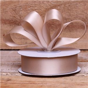 Basics 2 Go Satin Ribbon - 23mm Tan