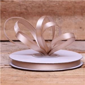 Basics 2 Go Satin Ribbon - 7mm Tan