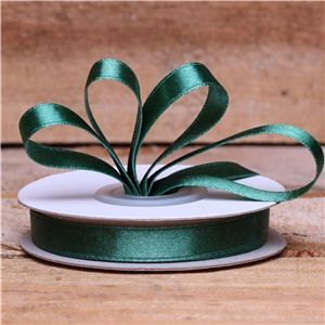 Basics 2 Go Satin Ribbon - 9mm Green (Nylon)
