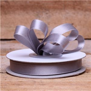 Basics 2 Go Satin Ribbon - 9mm Silver