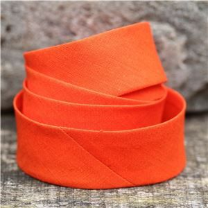Bias Binding Plain - 014 Orange
