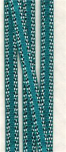 Bling Silver Edge Ribbon - Jade