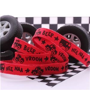 Car Ribbon - Red