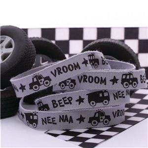 Car Ribbon - Grey