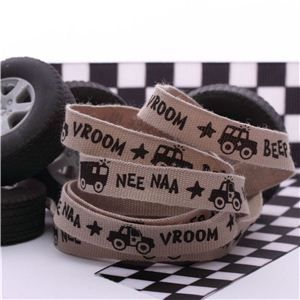 Car Ribbon - Tan