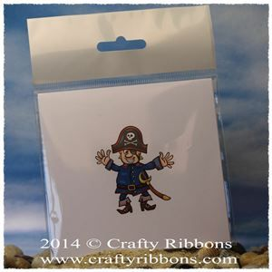 Pirate Topper - Coloured