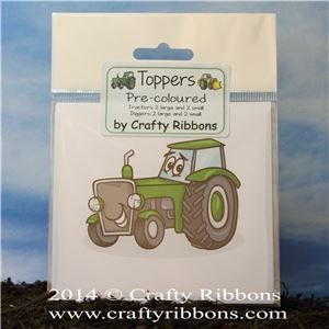 Tractor Digger Toppers - pre coloured