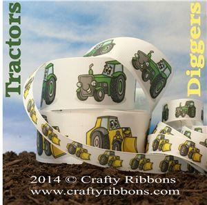 Tractor Digger Ribbon - WANT IT ALL