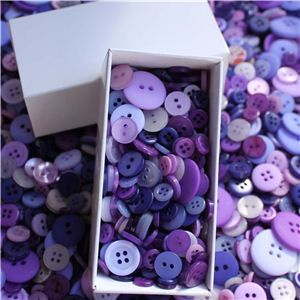 Button Box - Delphinium Crush