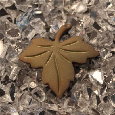 Button - Maple Leaf Sable