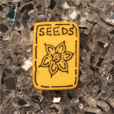 Button - Seeds Packet